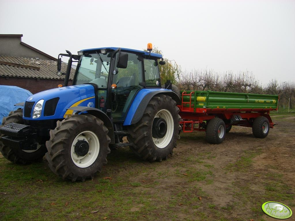 New Holland T5050 i Pronar