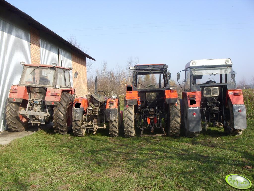 Zetor 12045, Ursus C-330, 4514 i Zetor 7245