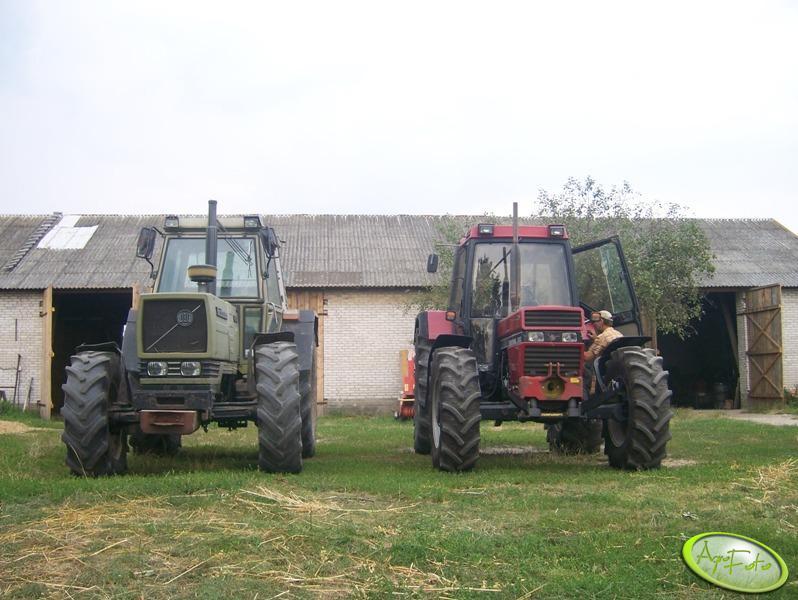 Case 956xl & Hurlimann H-490