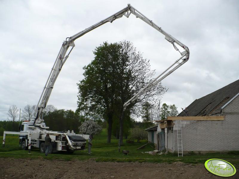 Pompa do betonu