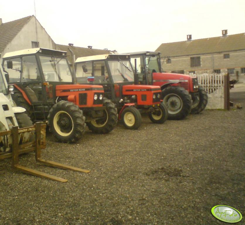 Zetor 6245 & 5211 oraz MF 4270