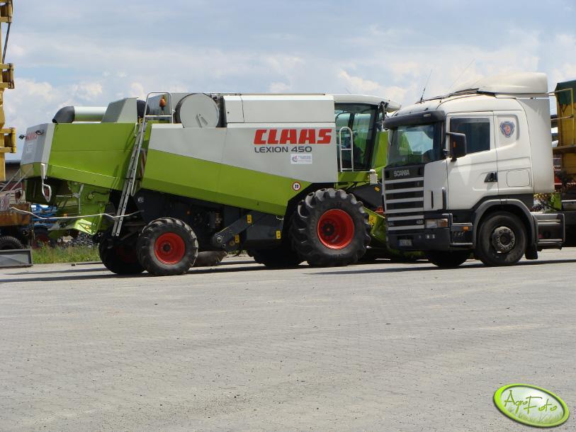 Claaas Lexion 450