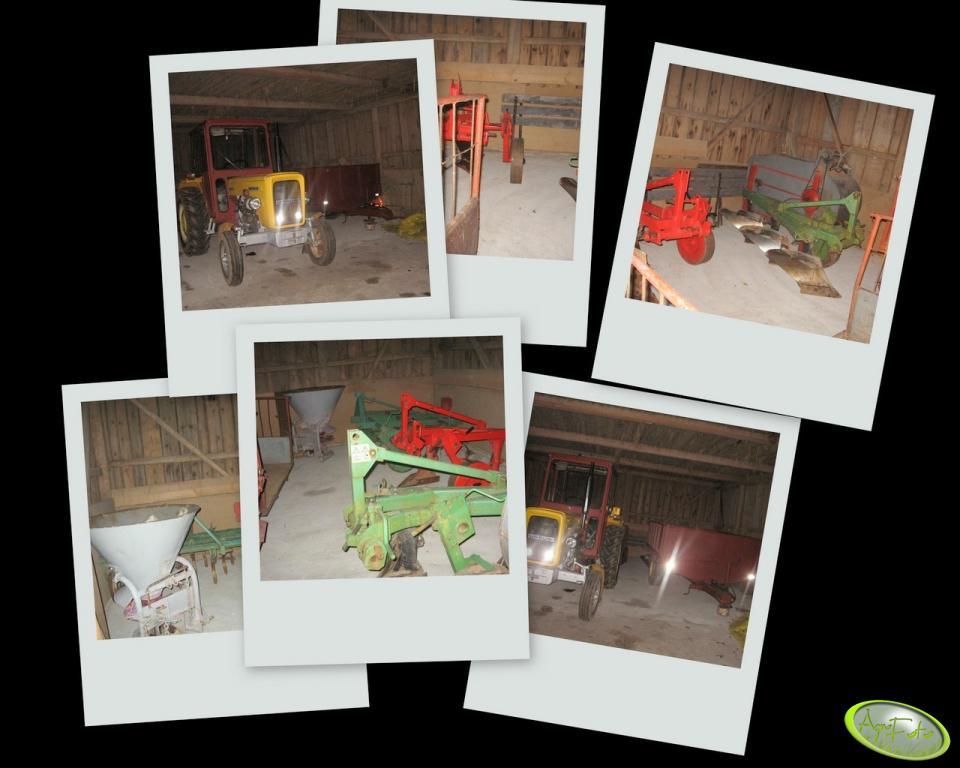 Maszyny w stodole