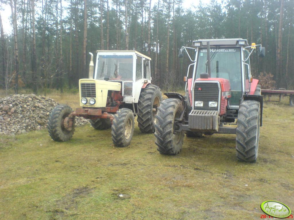 MF 3080 & Belarus 52