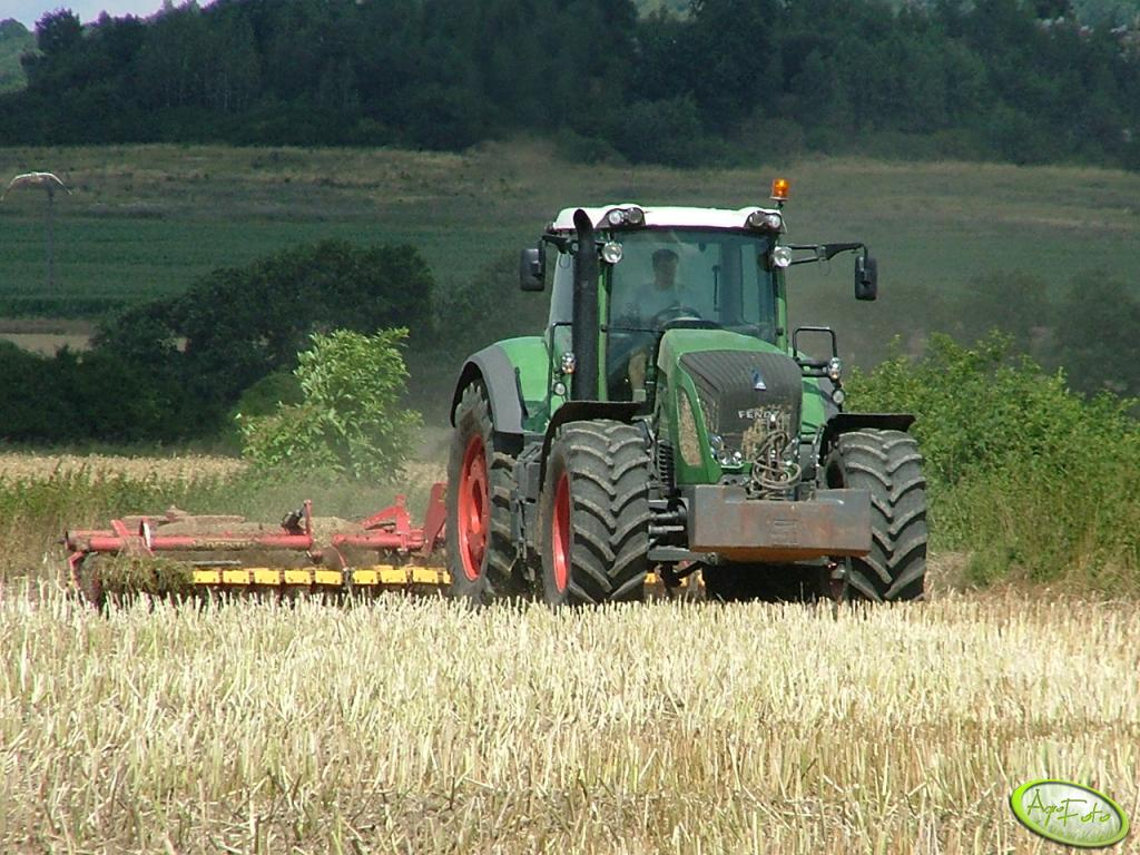 Fendt 936 Profi + Carrier
