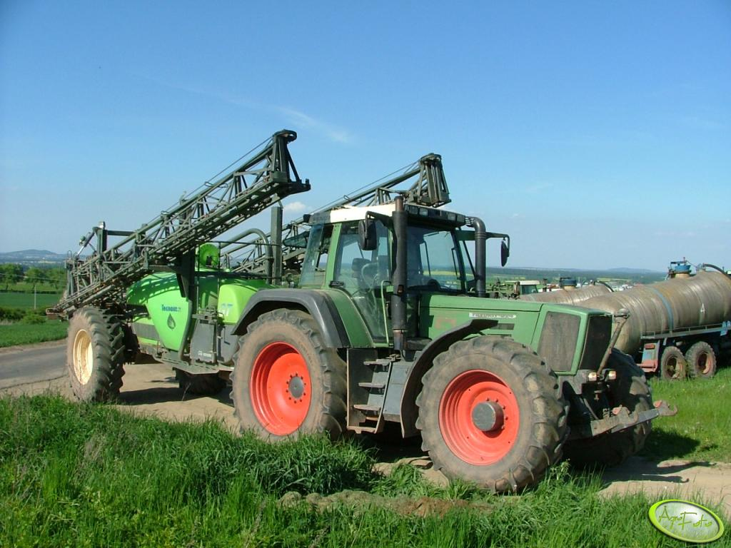 Fendt Favorit 824 + Tecnoma GT