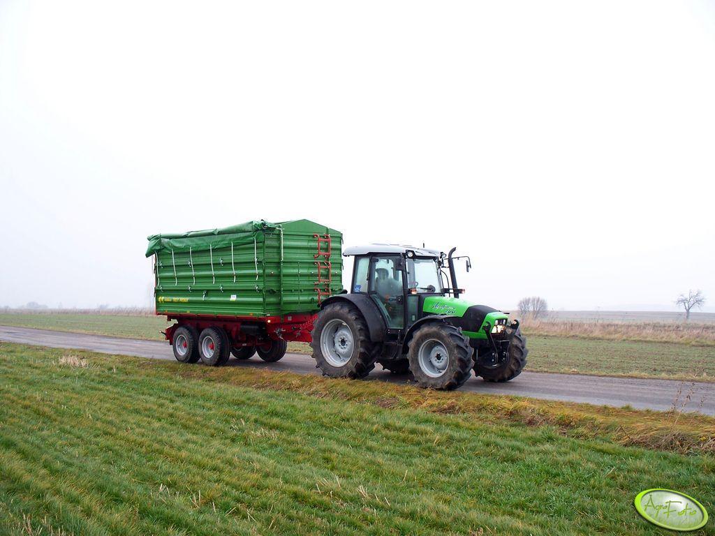 DF Agrofarm 100 +Pronar T663/1