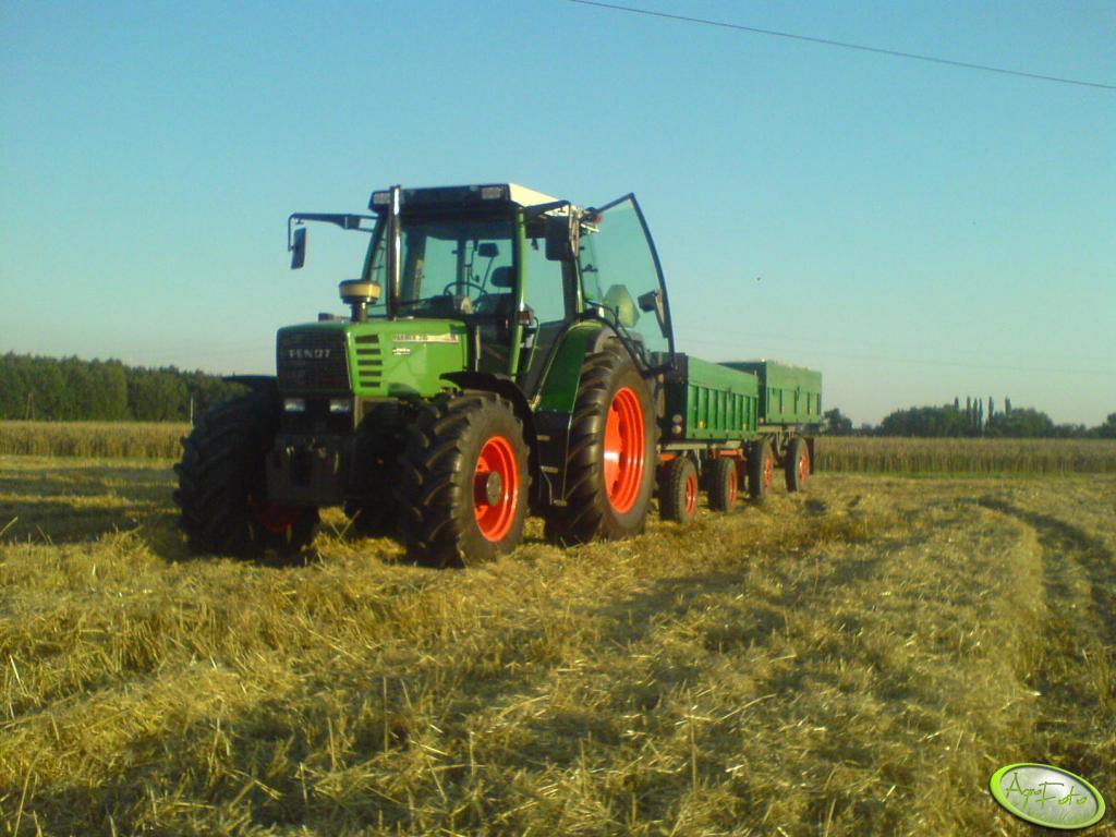 Fendt Farmer 310 + przyczepy