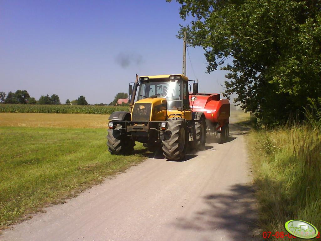 JCB Fastrac + Laverda