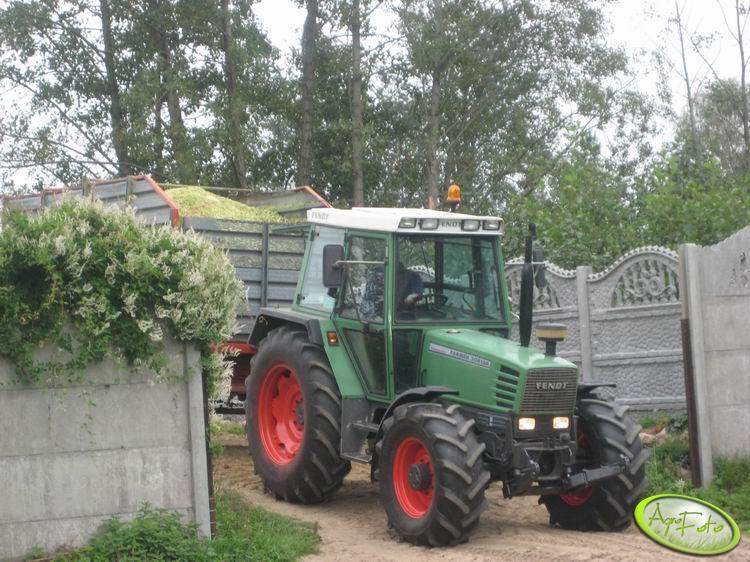 Fendt Farmer 308 lsa + Krone SW