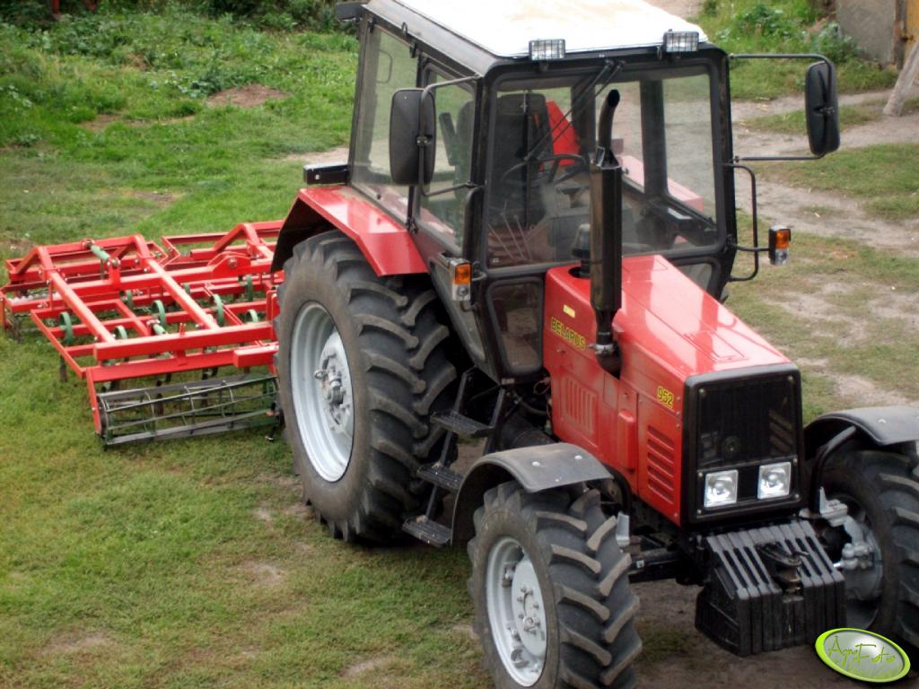 Belarus 952 + Agro-masz 3.60
