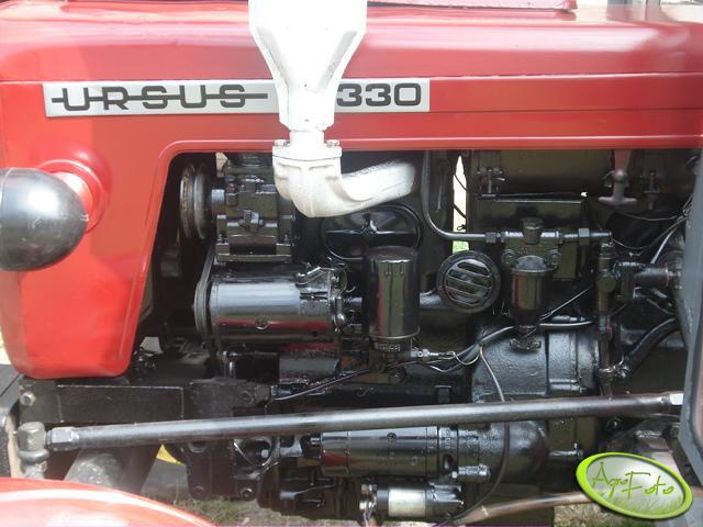 Ursus C-330 - silnik