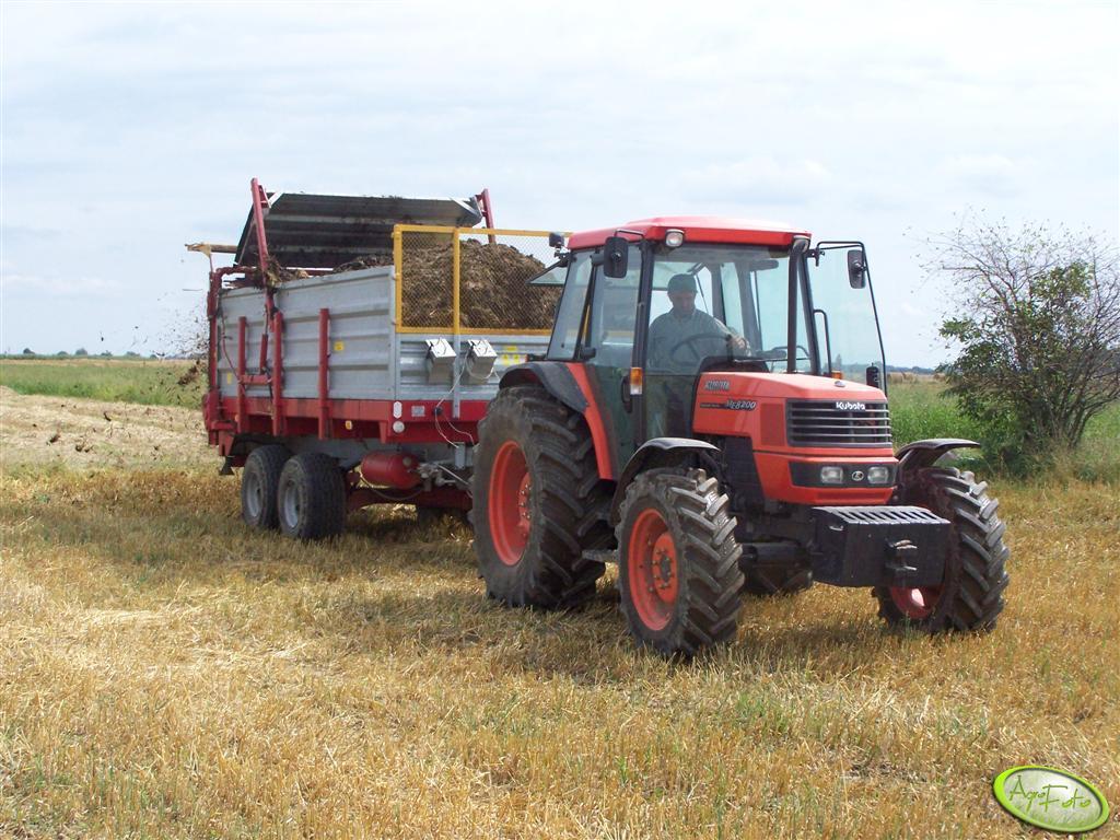 Kubota ME8200 & Cynkomet 8 ton