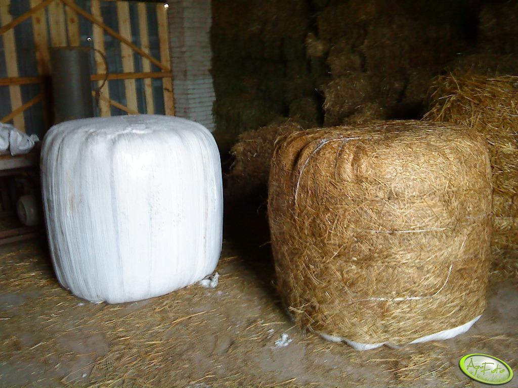 Wnętrze stodoły