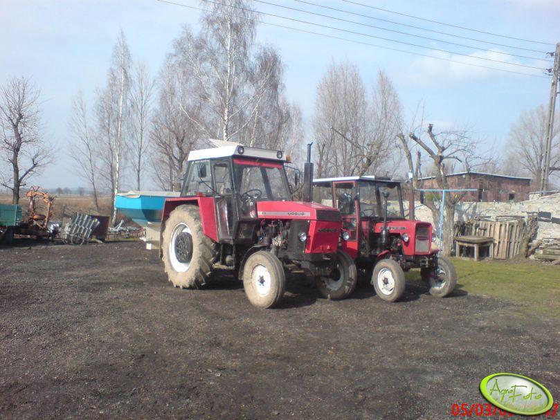 Zetor 8111+Sulky DPX 1503 i Ursus C-330