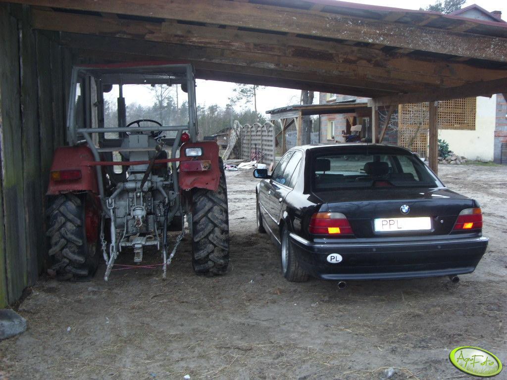 Ursus C-360 i BMW