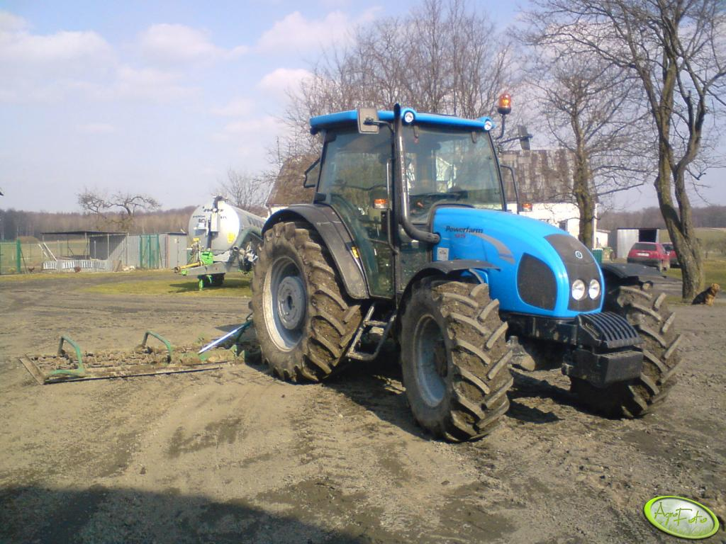 Landini Powerfarm 95+włóka