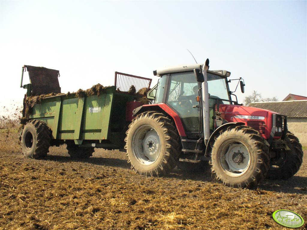 MF 6265 + Coutand 15t