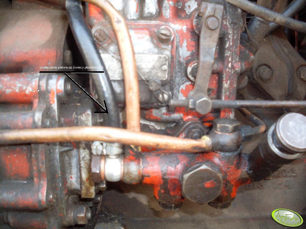 Podpięcie paliw do świecy płomieniowej w T25