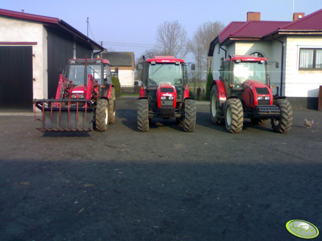 Zetor Forterra 11441 & Proxima 8441 & 7340 Turbo
