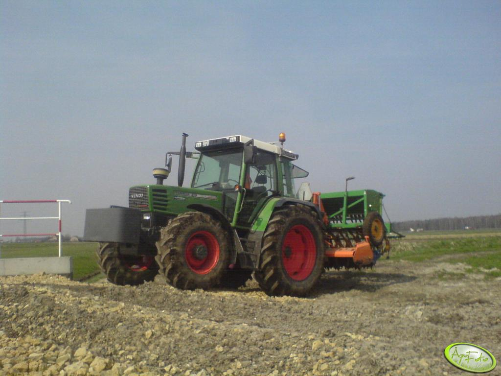 Fendt Farmer 310 + Agregat + Amazone D7