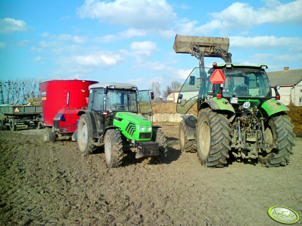 DF Agrotron 130 + Agroplus 80
