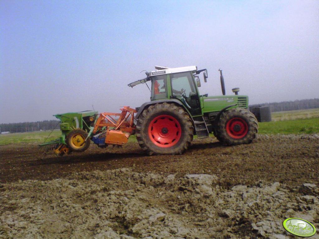 Fendt Farmer 310 + agregat uprawowo-siewny