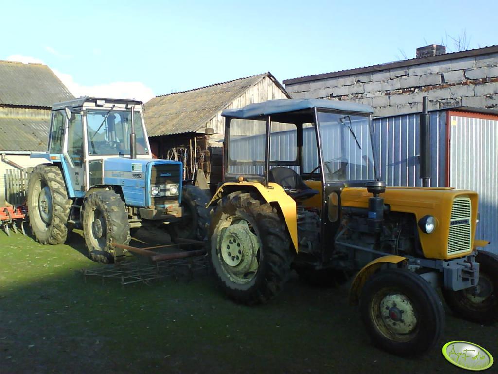 Ursus C-330 i Landini 8550