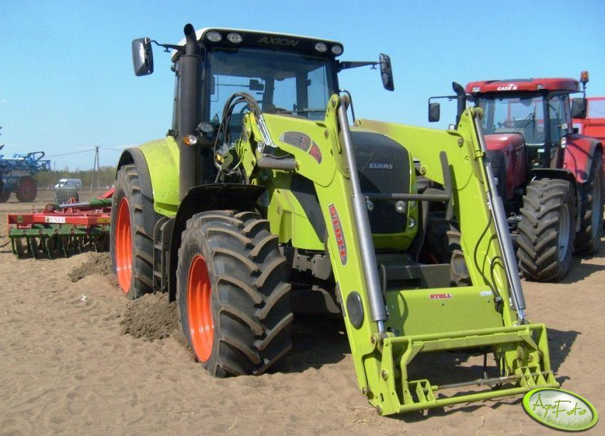 Claas Axion 810 + ares