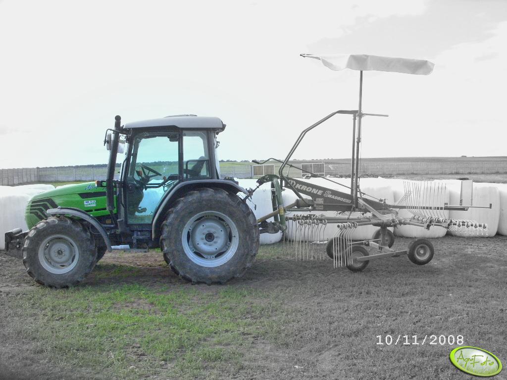 DF Agroplus 87 + Krone
