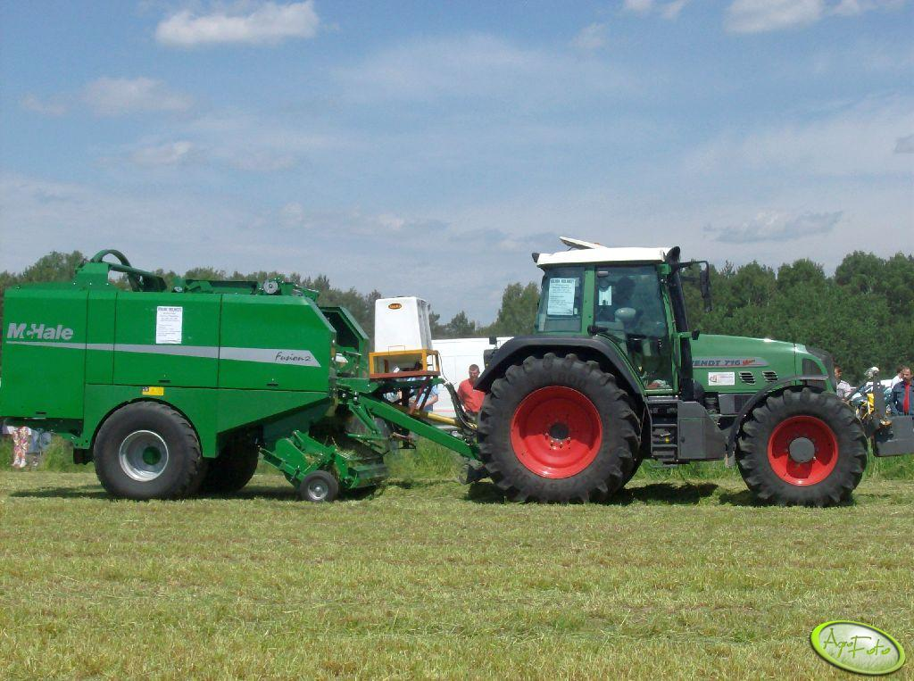 Fendt 716+MC Hale