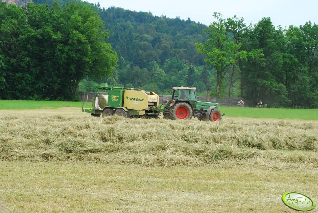 Fendt Farmer 311LSA + Krone CombiPack