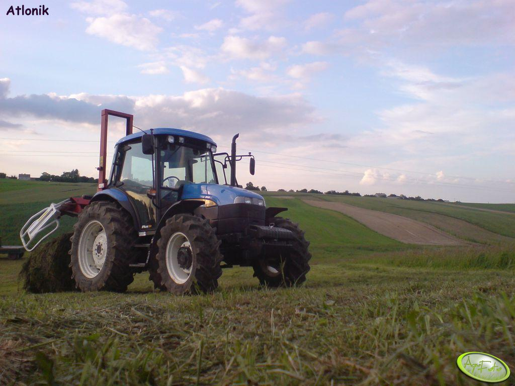 New Holland TD95D + Metal-fach