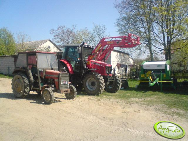 MF 5425, MF 255 i Sipma Farma II