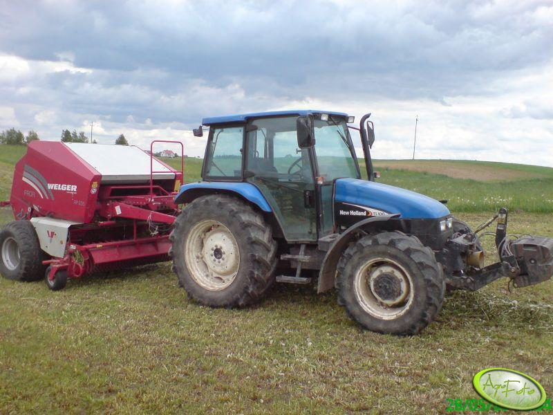 New Holland TL100 + Welger