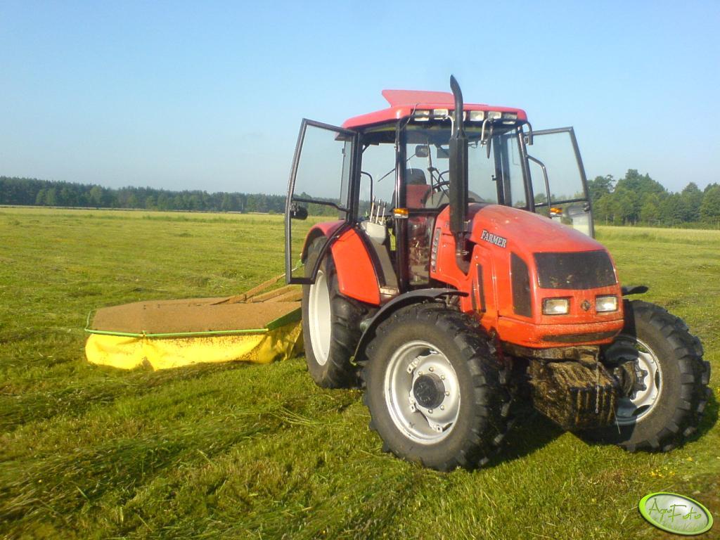 Farmer F-8244 c2 r + Samasz 1,85