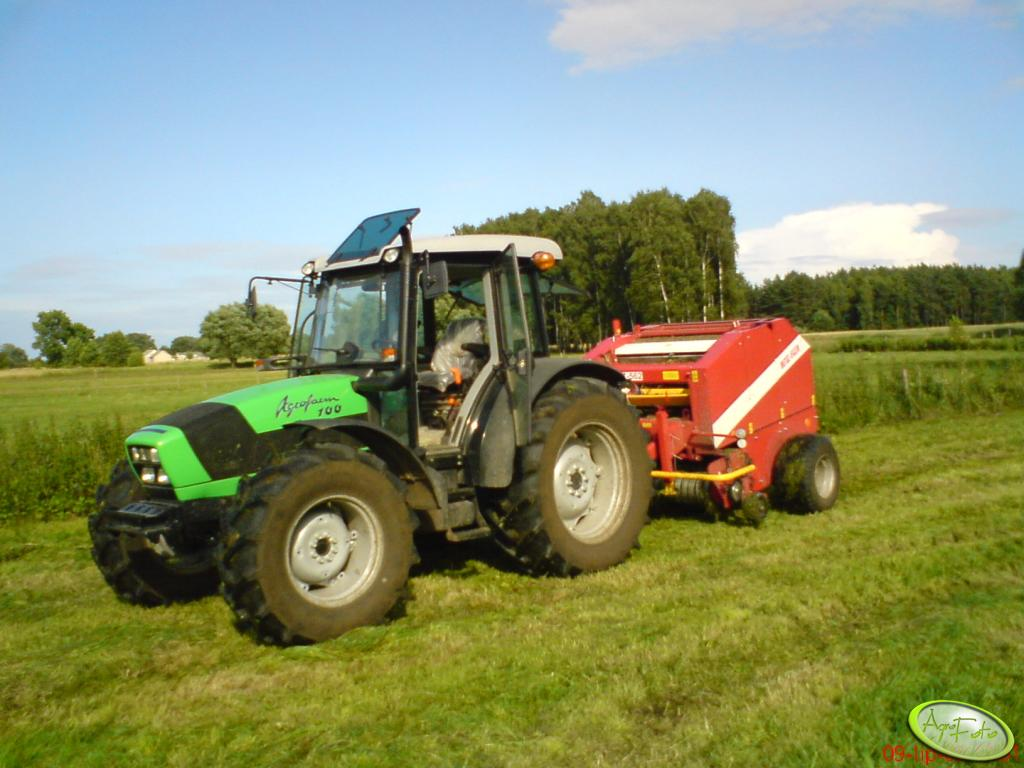 Deutz-Fahr Agrofarm 100 + Metal-Fach Z-562