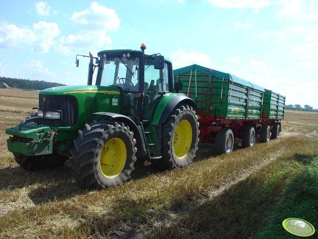 John Deere 6920 + Metal-Tech DB14000