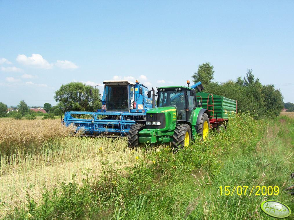 JD 6620 & Bizon BS Z110+Metaltech