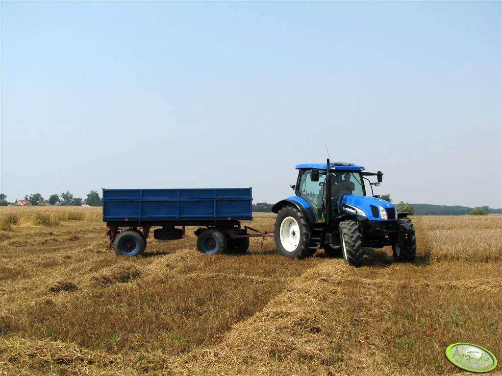 New Holland TS 115A + P78 S