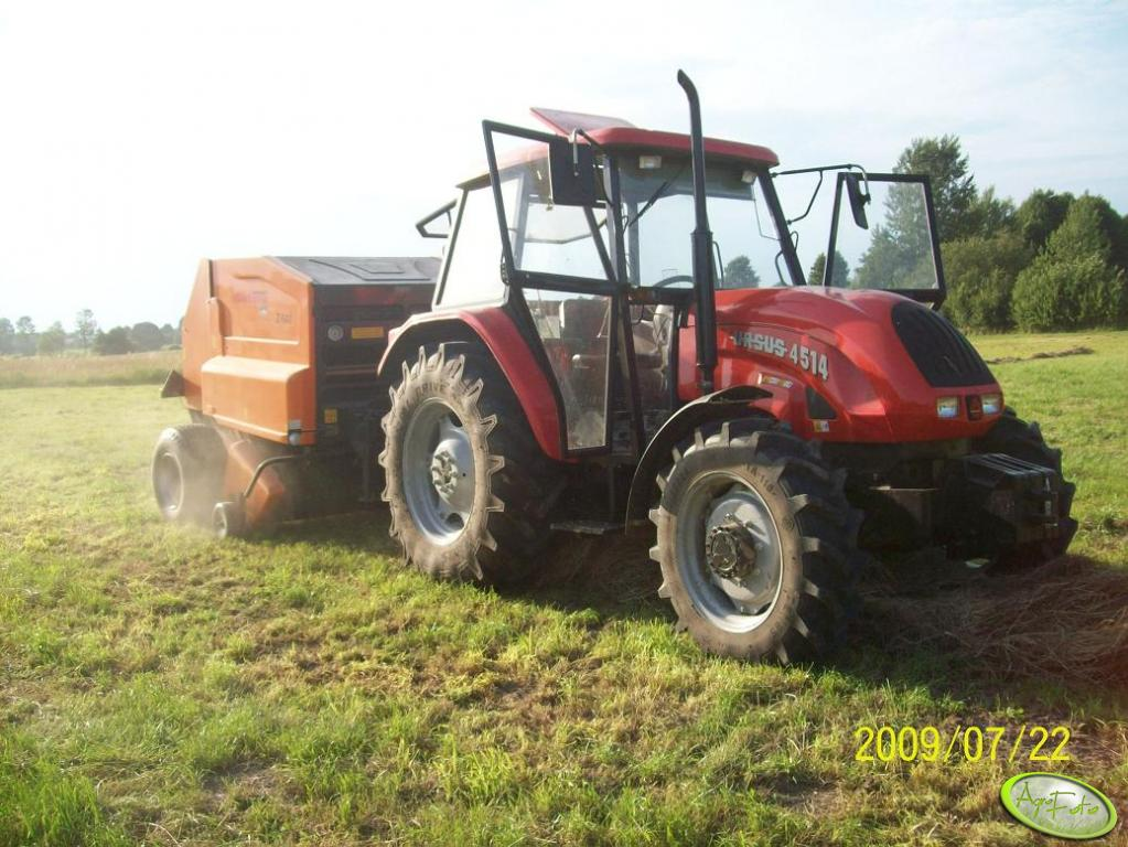 Ursus 4514 Agro Bis + Warfama Z-543