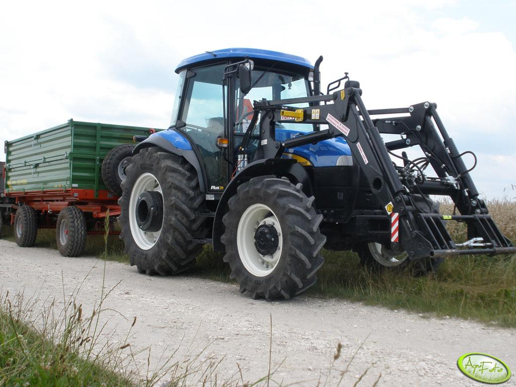 New Holland TD95D + Pronar T653/1
