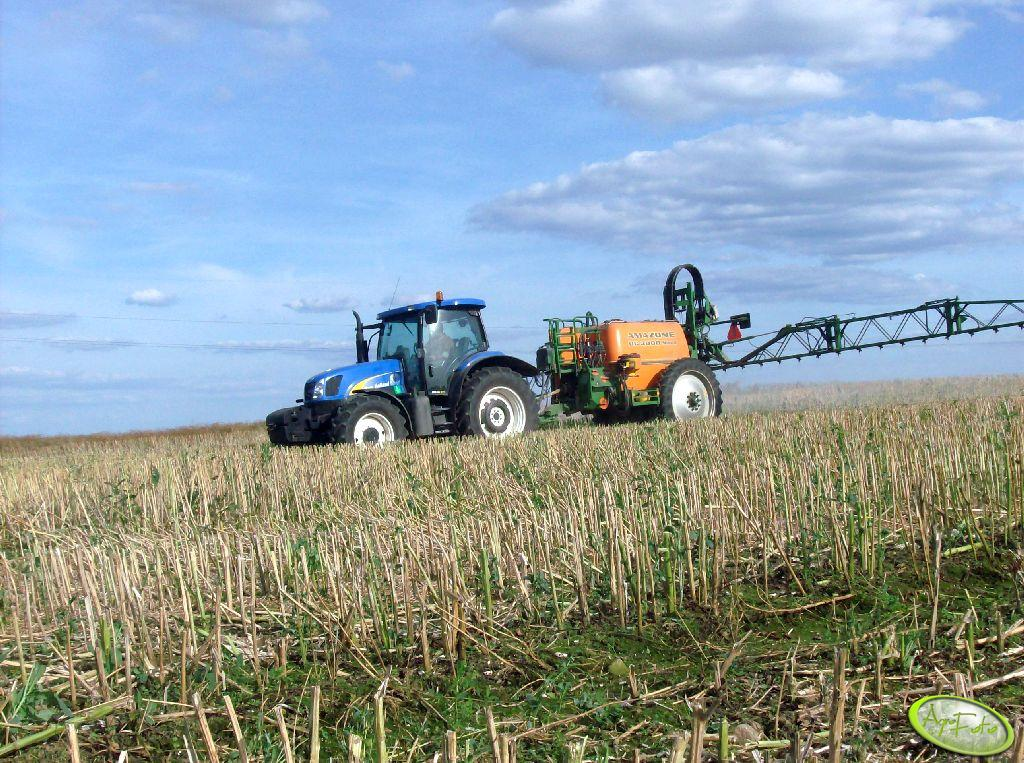 New Holland + Amazone