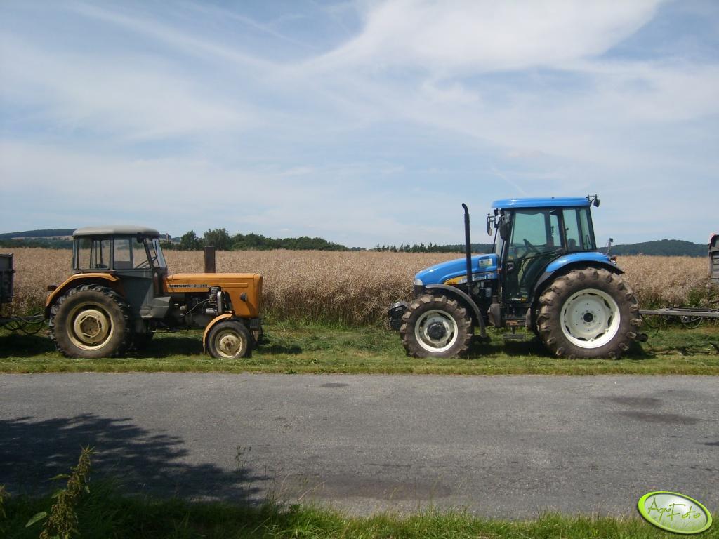 New Holland TD95D vs. Ursus C360-3P