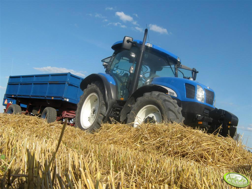New Holland TS 115A + P 78S