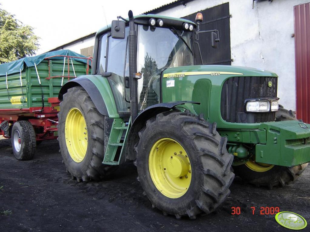John Deere 6620 + MetalTech 10t