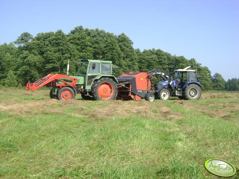 Fendt 306 LS Turbomatik + Deutz Fahr GP 220 & Farmtrac 8