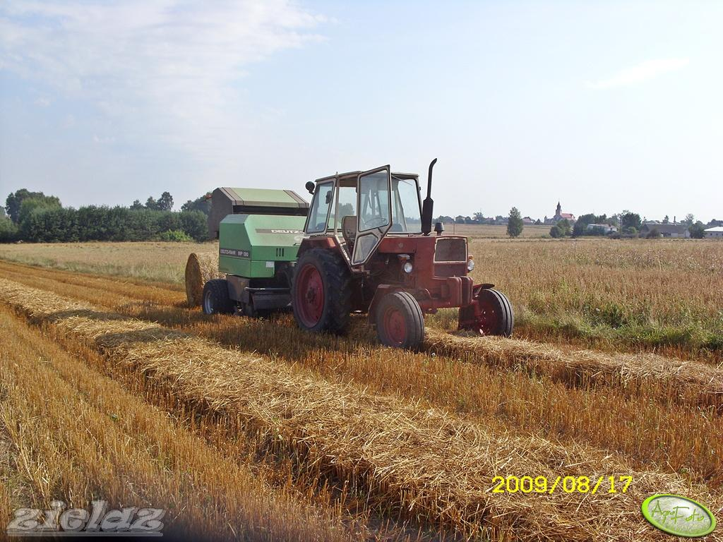 Jumz 6KM + Deutz Fahr MP 130