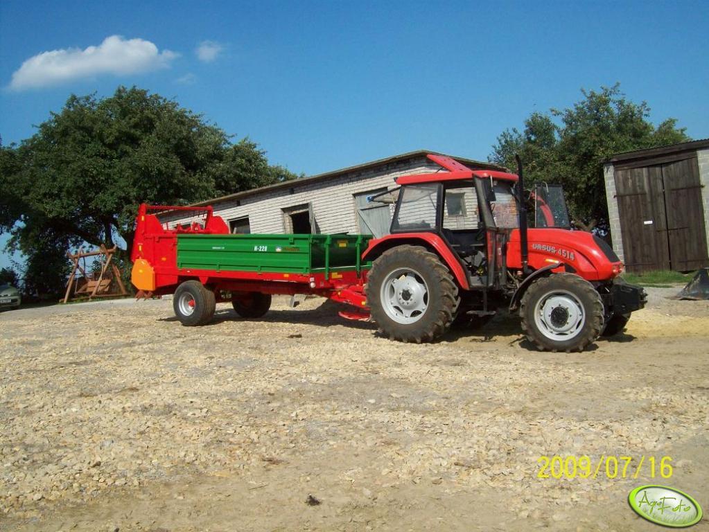 Ursus 4514 Agro Bis + Warfama N-228