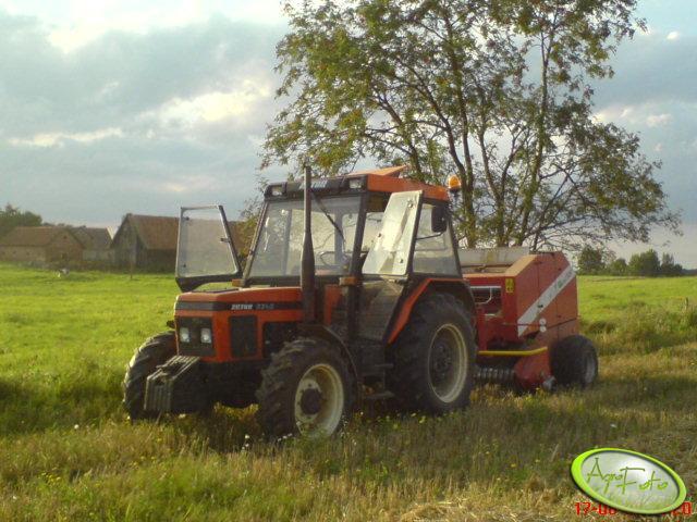 Zetor 6340 + Metal-Fach Z-562